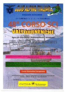 48° CORSO DI SCI per principianti – perfezionamento e snowboard