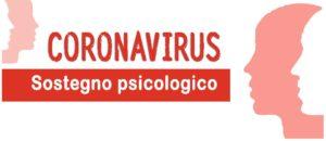 SOSTEGNO PSICOLOGICO CORONAVIRUS