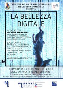 LA BELLEZZA DIGITALE – incontro con Michele Marangi
